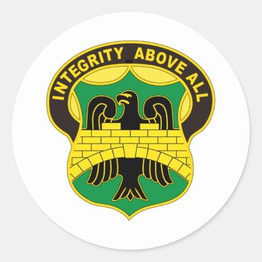 22. Militärpolizei Runder Sticker