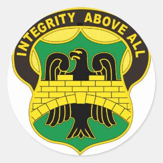 22. Militärpolizei Runder Aufkleber