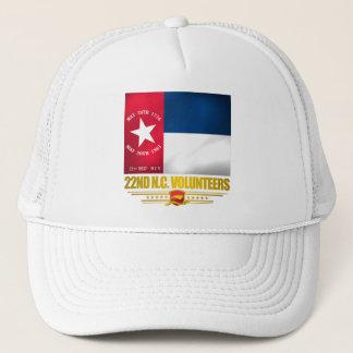 22. North Carolina erbieten Infanterie freiwillig Truckerkappe