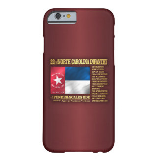 22. North Carolina-Infanterie (BA2) Barely There iPhone 6 Hülle