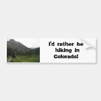 233, würde ich vielmehr in Colorado wandern! Autoaufkleber