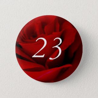 23. Geburtstag Runder Button 5,1 Cm