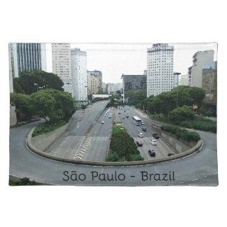 23demaio Allee São Paulo Tischset