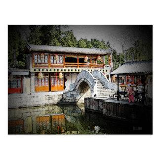 246 - Hoch gewölbte Brücke Postkarte