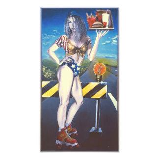 24:7 Woodstock Artwall painting - printversion Fotodruck