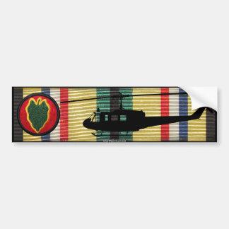 24. Inf. Div. UH-1 Huey SWACM Autoaufkleber
