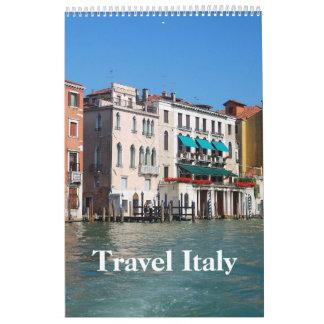 24-monatige Reise-Italiengewohnheit Druckkalender Wandkalender