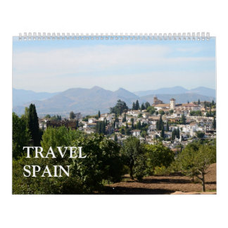 24-monatige Reise Spanien Abreißkalender
