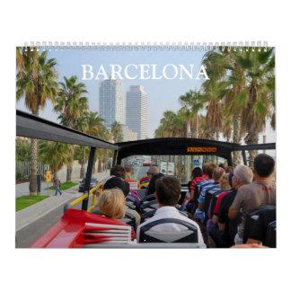 24-monatiges Barcelona, Spanien Wandkalender