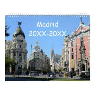 24-monatiges Madrid Kalender