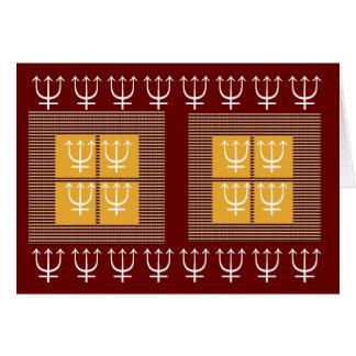 24 vier Quadrat-Gold TRIDENT-Schutz-8 x 3 = Karte