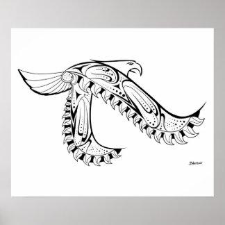 "(24"" x20"") Stammes- gebürtiges Art-Plakat Eagles Poster"