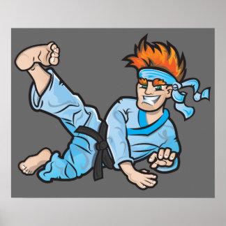 """24"""" x 20"""" Wert-Plakat-Papier mit Karatekind Poster"""
