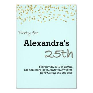 25. Geburtstag Personalisiert In Den Pastellfarben Karte