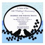 25. Hochzeitstag Einladungskarte