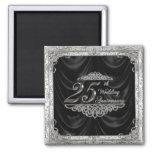 25. Hochzeitstag-Magnet Magnets