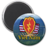 25. Infanteriedivisionvietnam-Flecken Magnet Magnets