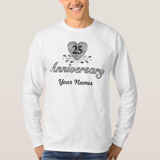 25. Jahrestag - Silber T-Shirt
