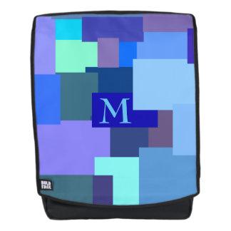 25 Schatten Blau - Ihr Monogramm Rucksack