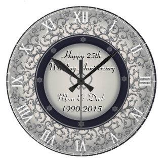 25. Silberner Hochzeitstag Uhren