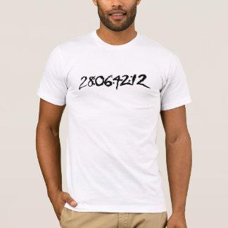 28:06: 42: 12 T-Shirt