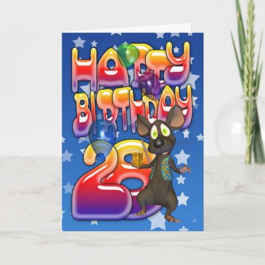 Depesche Geburtstagskarte 28 Geburtstag Mit Musik