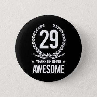 29. Geburtstag (29 Jahre des Seins fantastisch) Runder Button 5,1 Cm