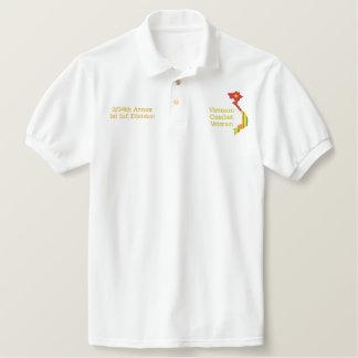 2/34th besticktes polo shirt