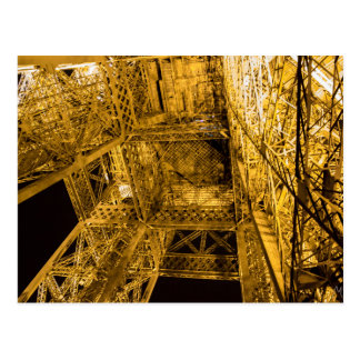 2/3 herauf den Eiffelturm Postkarte