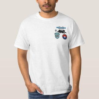2/47th Inf. CIB, Panther u. Flecken-Flecken-Shirt T-Shirt