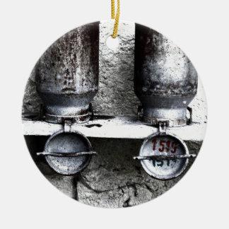2 Alte Milchkannen Rundes Keramik Ornament