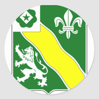 2. Bataillon, 63. Rüstung Runder Aufkleber