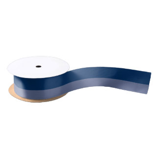 "2 Blues 1,5"" weit Satin-Band Satinband"