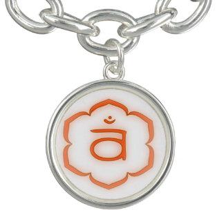 2. Chakra - Svadhisthana Charm Armbänder