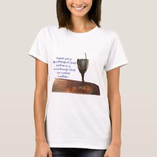 2 Corithians überfließender Chalice/Leiden T-Shirt