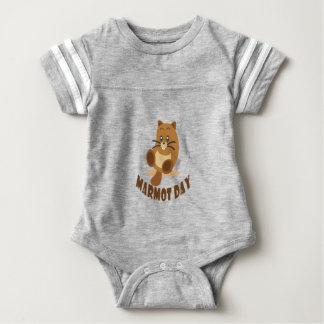 2. Februar - Murmeltier-Tag Baby Strampler