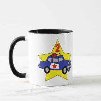 2. Geburtstags-Polizeibeamte Tasse