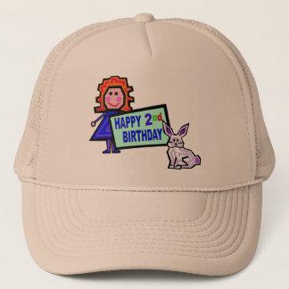 2. Geburtstags-Puppe und Häschen Truckerkappe