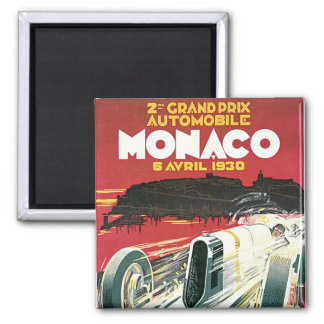 2. Grandprixde Monaco Quadratischer Magnet