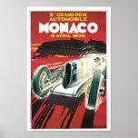 2. Grandprixde Monaco Posterdrucke