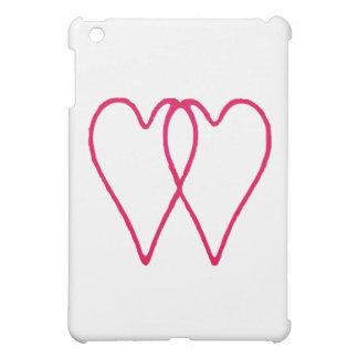 2 Herzen zusammen zwei die MUSEUM Zazzle Geschenke Hüllen Für iPad Mini