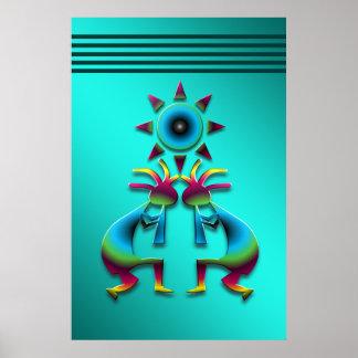 2 Kokopelli #41 Poster