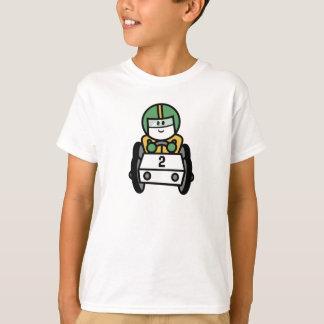 2 laufendes Auto-KinderT - Shirts
