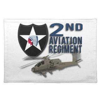 2. Luftfahrt-Regiment - Apache Stofftischset