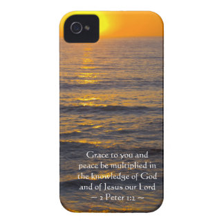2 Peter-1:2 iPhone 4 Cover