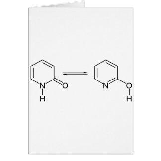 2-Pyridone Chemikalie Tautomer Karte
