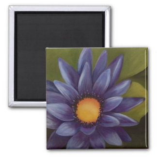 "2"" quadratischer Wasser-Lilien-Magnet Quadratischer Magnet"