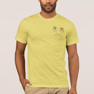 2 Seiten für Männer T-Shirt