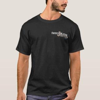 2 Seitenlogo-Rückseiten-Zug der T-Shirt