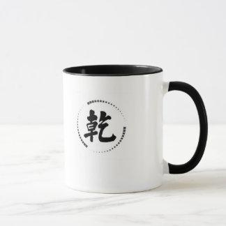 2 - tonen Sie Tasse mit chinesischem creativepower